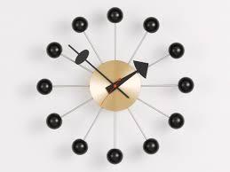 buy the vitra ball wall clock at nest co uk