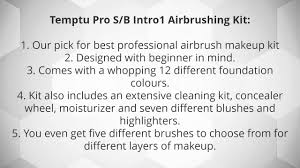 best airbrush makeup kits reviewed youtube