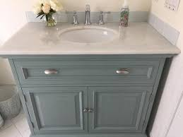 White Bathroom Vanity Home Depot Home Decorators Collection Sadie 38 In Vanity In Antique Blue