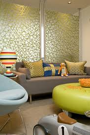 Living Room Interior Without Sofa Living Room Furniture Translucent Frameless Glass Room Partitions