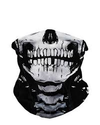 skeleton seamless mask bandana front accessories pinterest