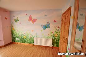 mural kids rooms girls butterfly room mural by featurewalls ie