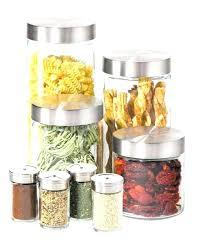 glass kitchen storage canisters kitchen storage jars glass imdrewlittle info