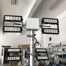 night scan light tower prices roof mounted 12v led truck telescopic mast light tower 2 5m system