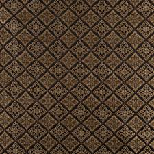 Diamond Upholstery Midnight Gold And Ivory Diamond Brocade Upholstery Fabric By The Yard