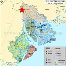Map Of Beaufort Sc Bindon Plantation
