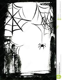 halloween background black spider web frame with spider stock illustration image 59972534