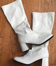 s gogo boots size 11 white gogo boots in boots ebay