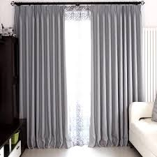 Bedroom With Grey Curtains Decor Modern Bedroom And Living Room Gray Blackout Curtains Within Gray