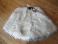 faux fur tree skirt miller 52 faux fur christmas tree skirt ebay