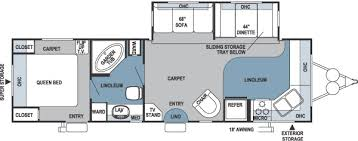 Rockwood Trailers Floor Plans 2005 Forest River Rockwood Travel Trailer Rvweb Com
