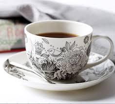 fancy coffee cups personalized graffiti gray ceramic coffee cup fancy cups birds