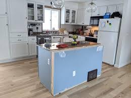 diy kitchen cabinets kreg diy kitchen island makeover