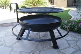 Fire Pit Ring With Grill by Nice Design Custom Metal Fire Pits Fetching 1000 Ideas About Steel