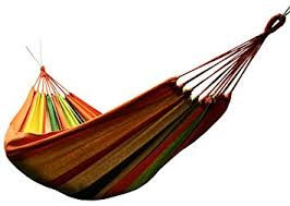 amazon com honesh outdoor leisure double 2 person cotton hammocks