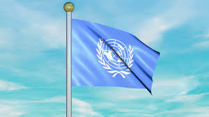 Picture Of Un Flag Looping Animated Flag Of The United Nations On A Pole Stock Video