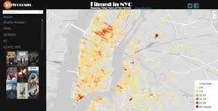 Street Map Of Nyc Map Find Out What Modern Movies Have Been Filmed On Your Street