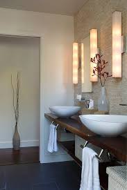High End Bathroom Vanity Lighting Miami High End Bathroom Contemporary With White Framed Round