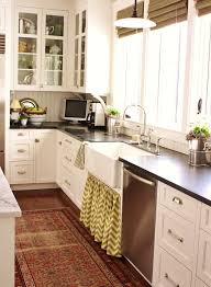 6 kitchens with envy worthy rugs via abbey carpet sf kitchen sink