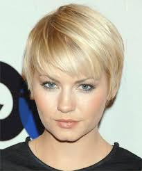 photo gallery of super short hairstyles for round faces viewing