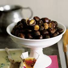 Roasting Chestnuts In Toaster Oven Roasted Chestnuts Recipe Epicurious Com