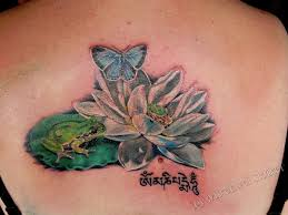 hd lotus and butterfly design idea
