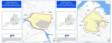 Queens Neighborhood Map Pesticide Spraying Across Many Queens Neighborhoods Set For Monday