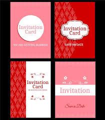 wedding card template vector coreldraw free vector download