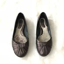 born adele flats 66 off born shoes born adele moro metallic ballerina flats size