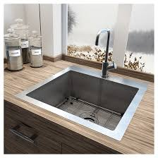 stainless steel single kitchen sink rona