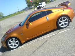 Nissan 350z Orange - 2007 nissan 350z coupe grand touring nissan colors