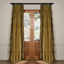 Brown Gold Curtains Curtain Striking Brown And Gold Curtains Image Design Striped
