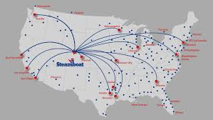 Chicago To Atlanta Map non stop flights to steamboat springs co steamboat resort