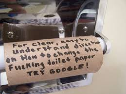 Toilet Paper Roll Meme - if you don t replace the toilet paper rolls the terrorists win do