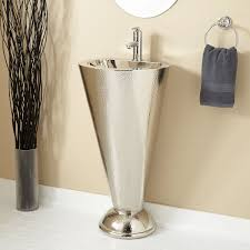 modern pedestal sink emma pedestal sink modern bathroom sinks by