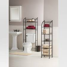 Bathroom Shelves Target Target Home Rubbed Metal Toilet Space Saver étagère