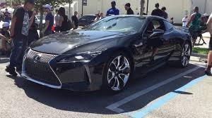 the lexus lc 500 coupe lexus lc 500 walkaround at cars u0026 coffee west palm beach youtube