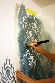 painting stencils for wall art tutorial how to stencil walls tips and tricks for wall stenciling