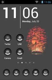 home themes for android minimalism android themes androidlooks