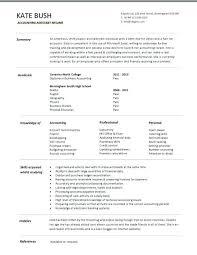 resume templates accounting assistant job summary exle accounting job resume lidazayiflama info