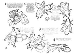 bee coloring pages eson me