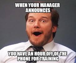 Training Meme - 14 hilarious gif and memes depicting call center problems