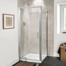 Shower Door 720mm Premium 6mm 900 Pivot Door Shower Enclosure
