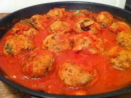 envie de cuisiner polpette de viande à la sauce tomate envie de cuisiner