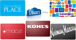 discount gift card ebay save on gift cards lowe s the children s place toysrus