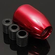 universal car manual gear stick shift lever knob 5 speed aluminum