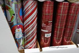 foil christmas wrapping paper costco 2014 christmas gift wrap ribbons cards more frugal