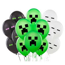 minecraft balloons minecraft balloons this party started
