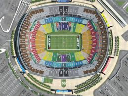 Citi Field Seating Map New York Jets Virtual Venue By Iomedia