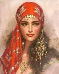 beautiful cartoon women art amazing arabic art beautiful cartoon design dessin drawing